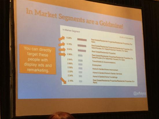 Google Analytics Demographics Report Jeff Sauer MNSearch Summit 2015