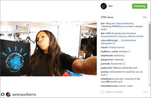 IBM Instagram 1