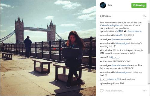 IBM Instagram 2