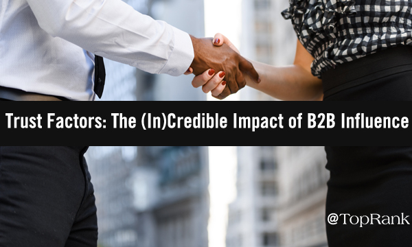 How Influencer Marketing Can Help B2B Brands Build Trust