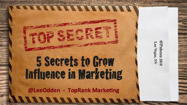Marketing Influence Pubcon