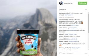 Ben & Jerry's on Instagram