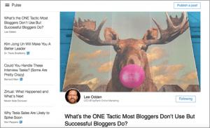 LinkedIn Pulse Content