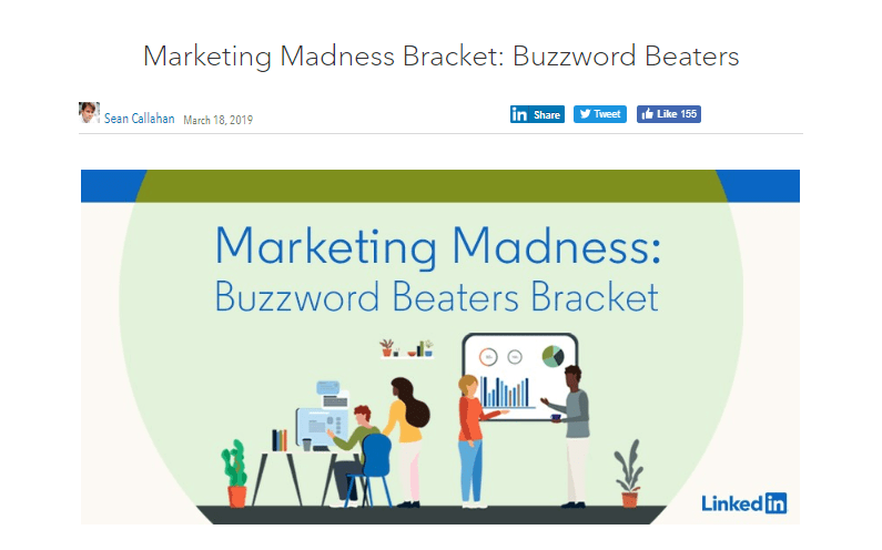 LinkedIn Marketing Buzzwords