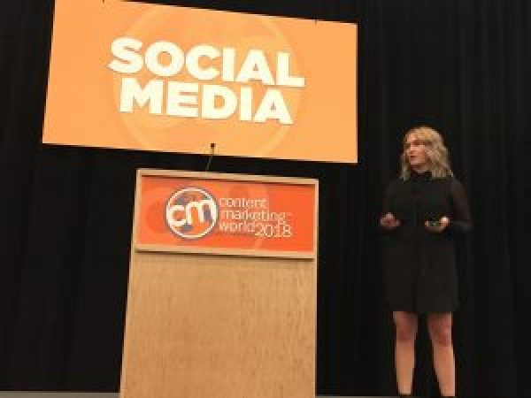 LinkedIn's Megan Golden at Content Marketing World
