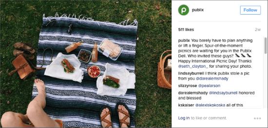 Publix Instagram