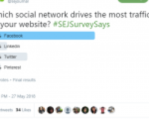 SEJ Poll Example