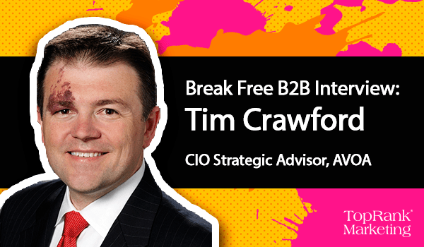 Break Free B2B Marketing Tim Crawford
