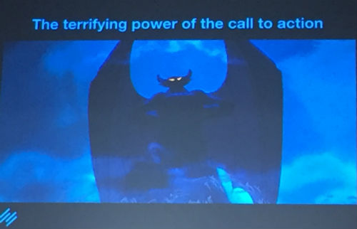 The Terrifying Power of the Call to Action - Authority Rainmaker 2015