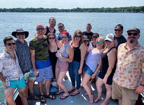 TopRank Team Boat Day 2019