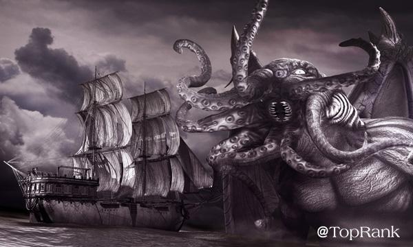 Kraken Sea Creature Image