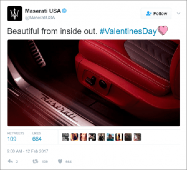 Maserati V-Day Marketing