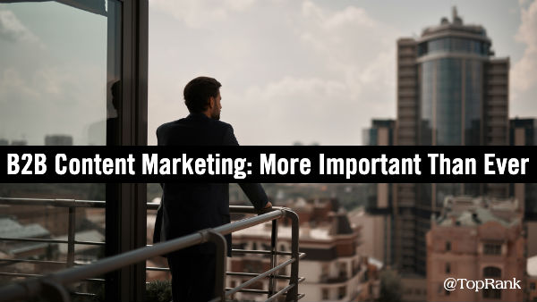 Contenu marketing B2B