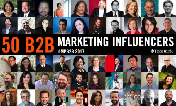 B2B Marketing Influencers