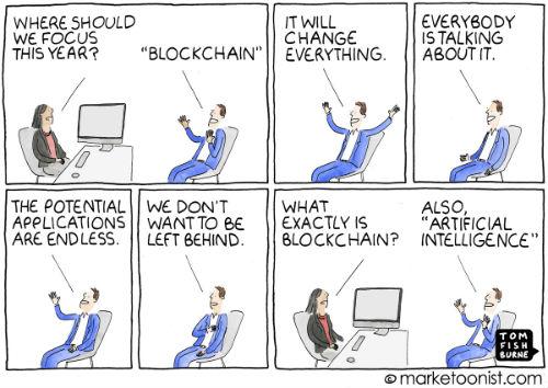 Blockchain Bandwagon