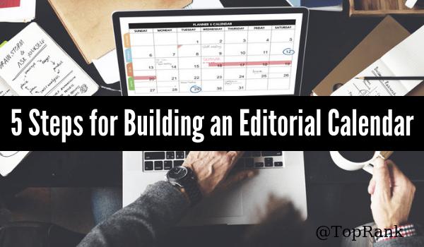 Building an Editorial Calendar