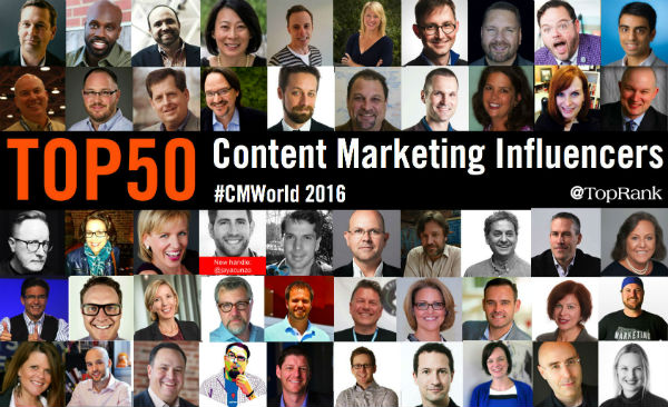 Content Marketing Influencers 2016