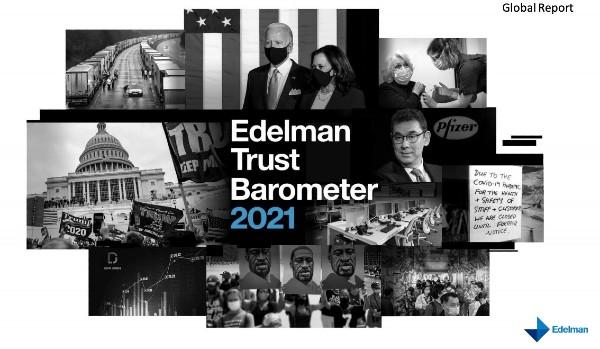 Baromètre de confiance Edelman 2021