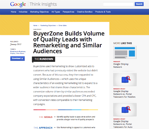 Case Study Buyerzone