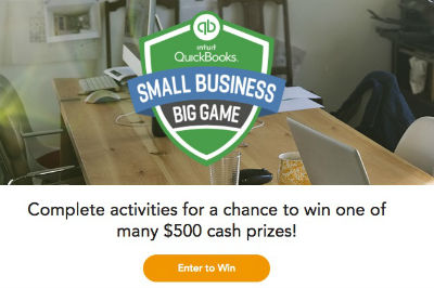 Intuit Quickbooks Small Business Big Game