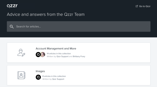 Qzzr Resource Hub