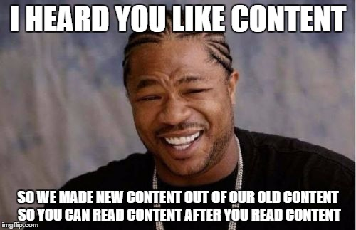 Xzibit Encourages Content Marketing Repurposing