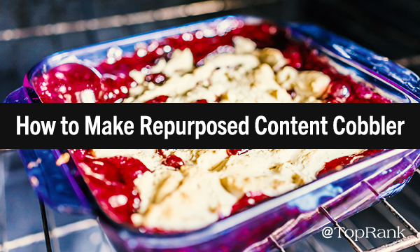 Ingredients for Content Marketing Cobbler
