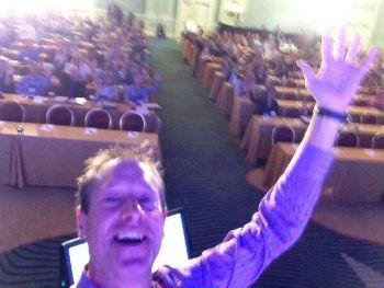 David Meerman Scott selfie
