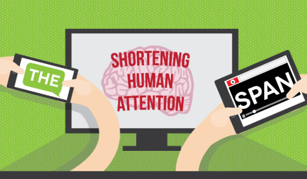 shortening human attention span