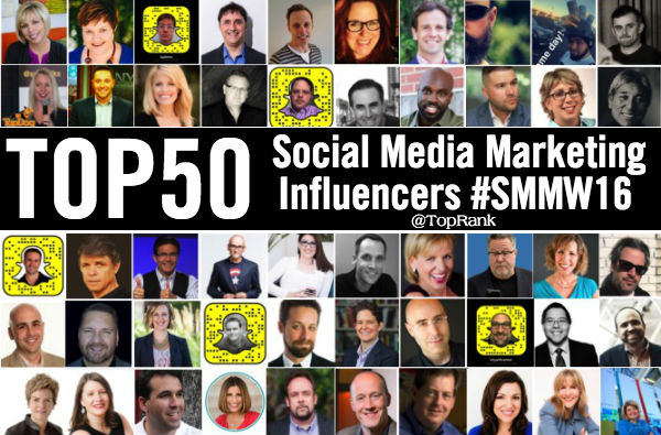SMMW16 Influencers Social Media Marketing Speakers