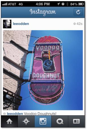 Voodoo Doughnuts Instagram