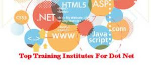 Top Training Institutes For Dot Net In Salem