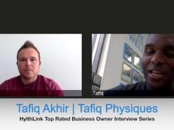Tafiq Akhir Tafiq Physiques Top Rated Business Owner Interview Series 2