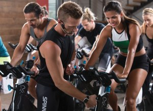 Spinning Fitness trainer