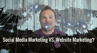 Social Media Marketing VS. Website Marketing