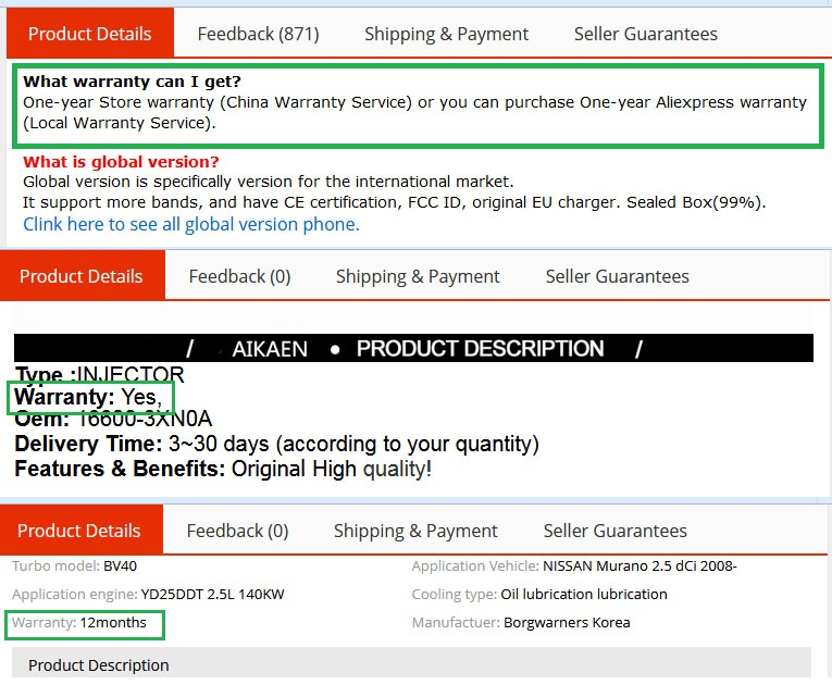 Aliexpress Shopping Guide - Ultimate Shopping Tips - Product warranty and support.