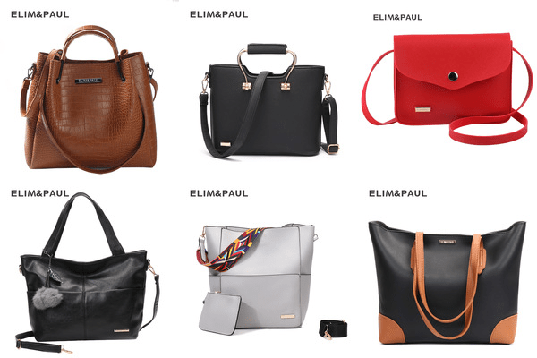 ELIM & PAUL AliExpress luxury brand bags review.