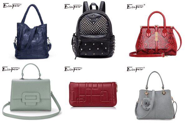 Esufeir AliExpress luxury brand bags review