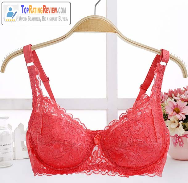 Double Row Buckle 80D 85D 90D 95D Plus Size Korean Bra Review
