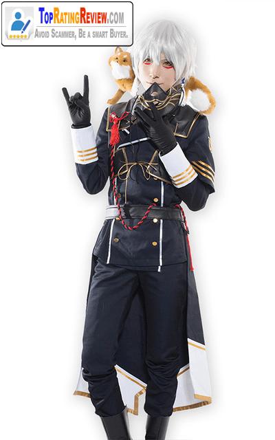 Touken Ranbu anime cosplay costumes - Nakigitsune Cosplay Cool Polyester Anime costumes with mask