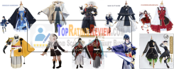 Top Rated Touken Ranbu anime cosplay costumes Review from Aliexpress
