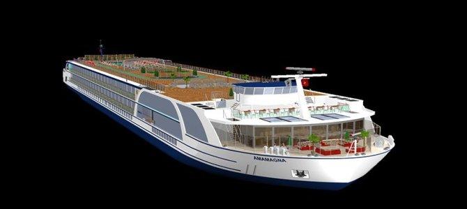 AmaWaterways presenta su nuevo barco AmaMagna, un nuevo concepto de crucero fluvial