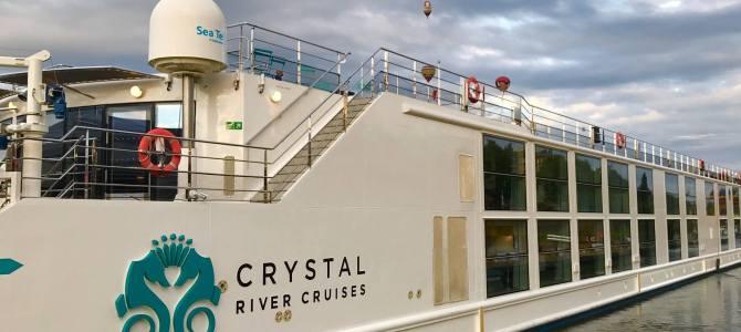 Crystal Cruises recibe su nuevo barco fluvial Crystal Bach