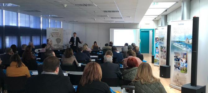 Éxito en la participación de CroisiEurope en Fitur 2019