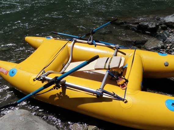 paddle cat rowing frame