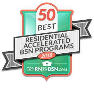 The 50 Best Residential Accelerated BSN Programs 2018