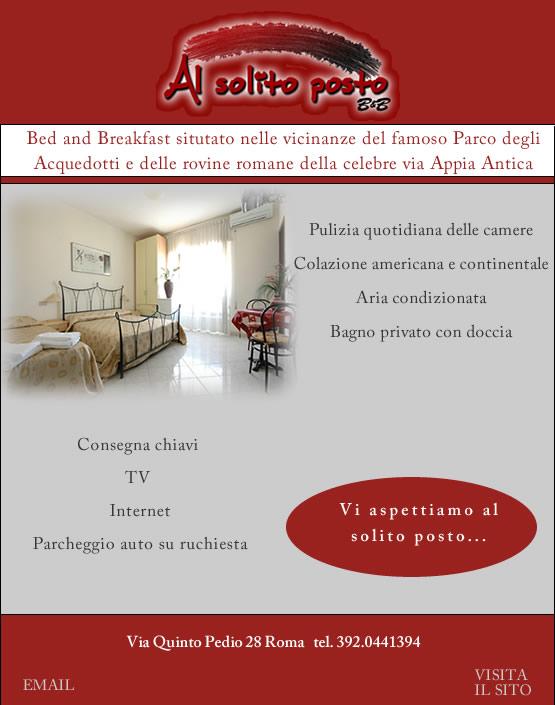 Bed And Breakfast casa vacanze a roma tuscolana