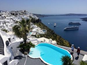 Отдых в Греции Экскурсия по Санторини
