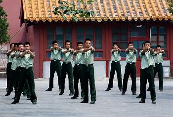 chinese military training