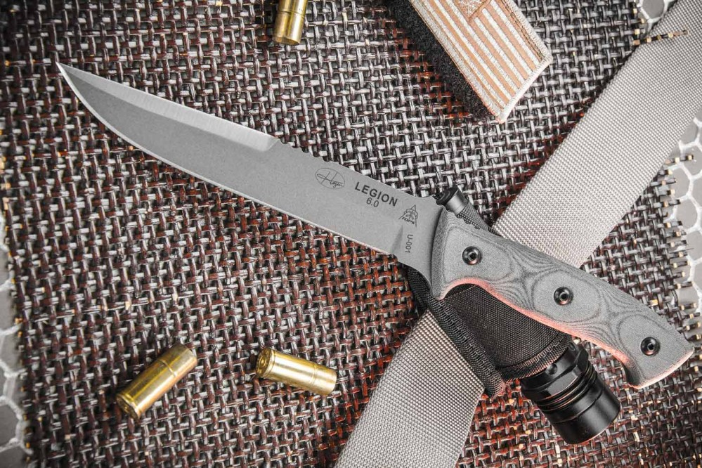Hazen Legion 60 Knife  TOPS Knives Tactical OPS USA